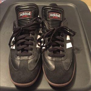 Adidas Samba Shoes size 7.5 Black